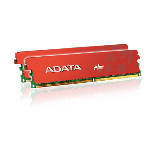 A-DATA XPG Plus Series DDR3 1600 MHz CL8 Dual Channel 4GB (2GBx2) product photo front L