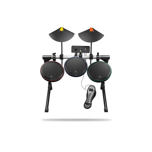 Logitech Wireless Drum Controller, Xbox 360 product photo front L