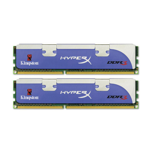 Kingston HyperX 2GB, 1800MHz, DDR3, Non-ECC, CL8 (8-8-8-24), DIMM, (Kit of 2), Tall HS product photo front L