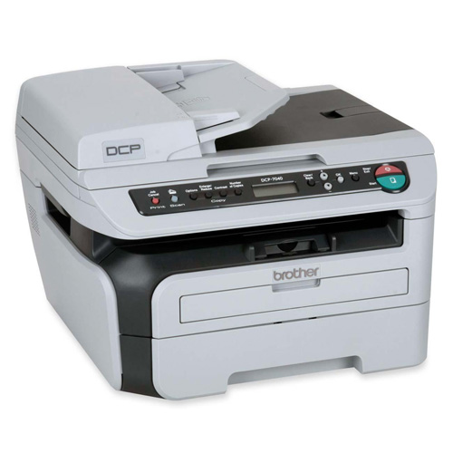 Brother DCP-7040 product photo back L