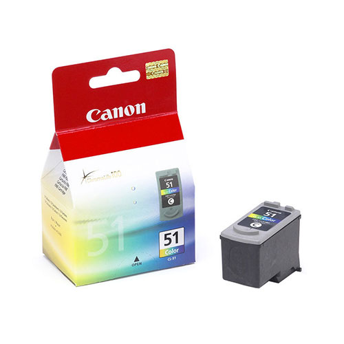 Canon CL-51 Color Cartridge product photo front L