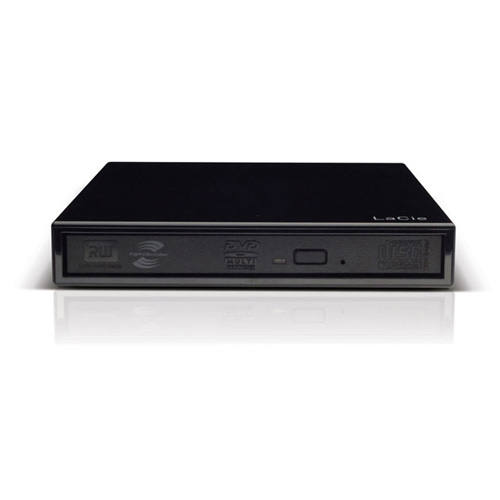 LaCie Portable DVD±RW, USB 2.0, 8x product photo front L