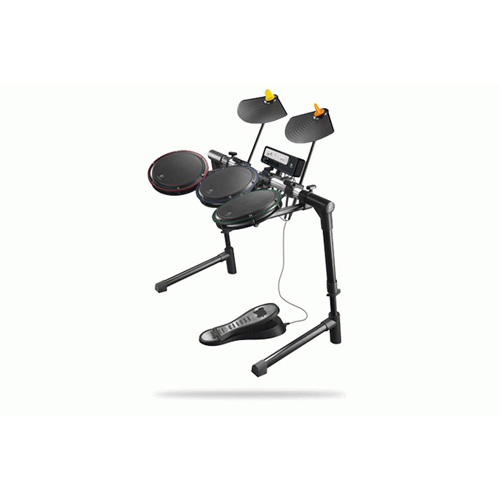 Logitech Wireless Drum Controller, Wii product photo back L