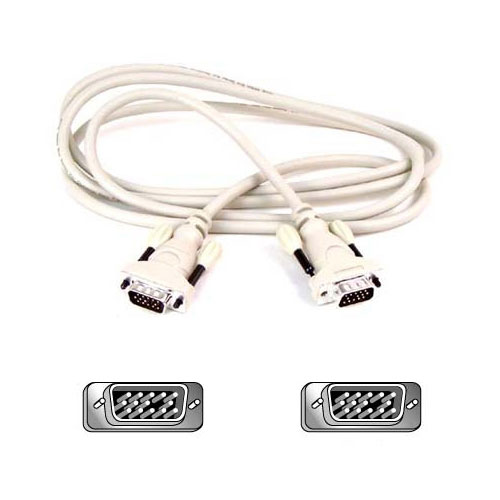 Belkin Pro Series VGA Monitor Signal Replacement Cable product photo front L