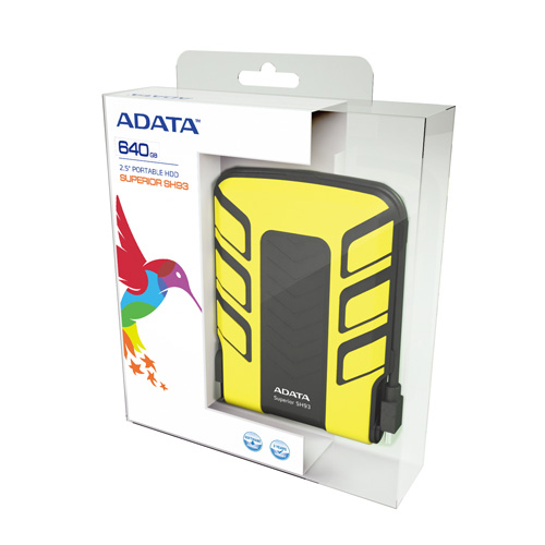 A-DATA 640GB SH93 product photo side L