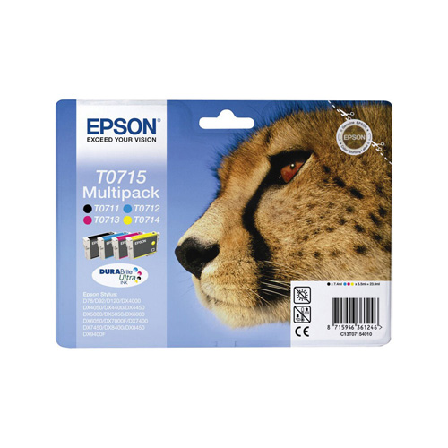 Epson T0715 product photo front L