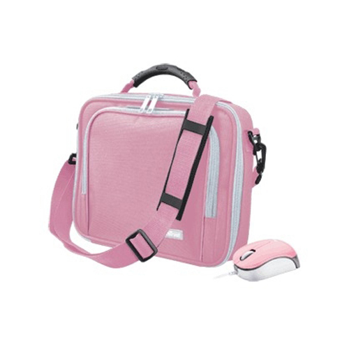 """Trust 10"""" Netbook Carry Bag + Micro Mouse product photo front L"""