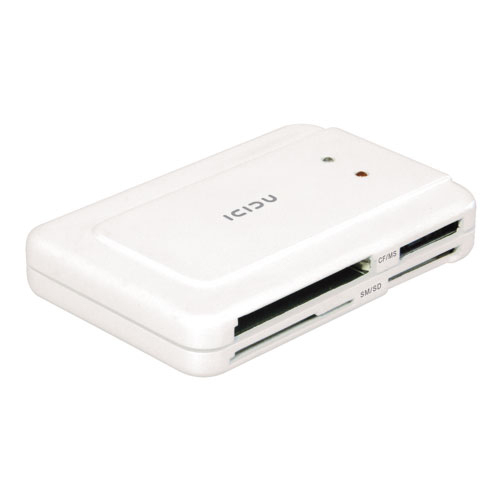 ICIDU Multi Card Reader 60+ formats product photo front L