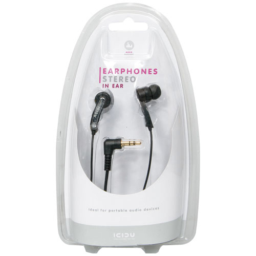 ICIDU In Ear Headset MP3 Stereo product photo back L