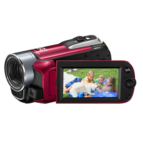 Canon LEGRIA HF R16 product photo side L