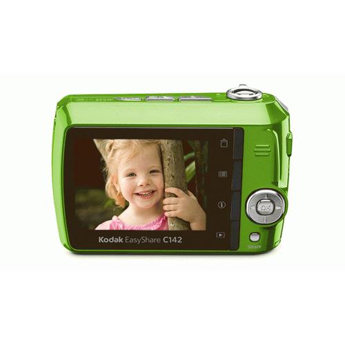 Kodak C series EasyShare C142 product photo back L