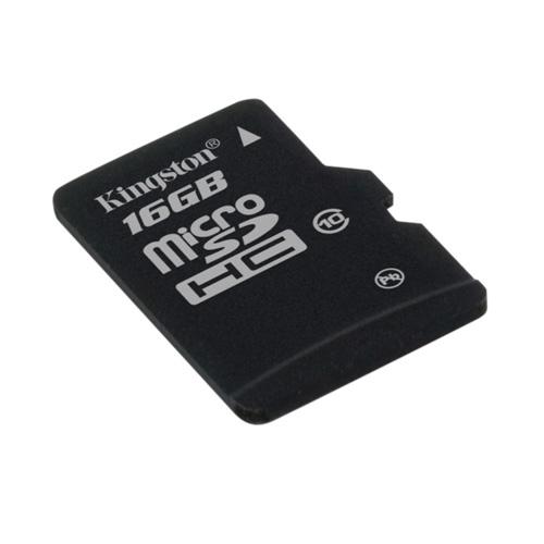 Kingston 16GB microSDHC product photo back L