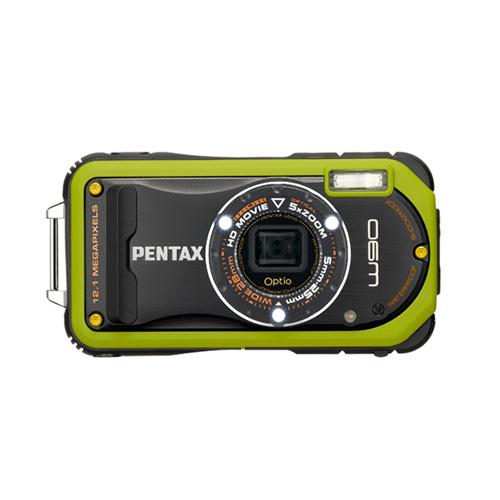 Pentax Optio W90 product photo front L