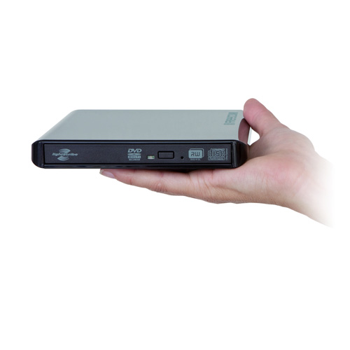 Freecom Mobile Drive DVD RW II product photo front L