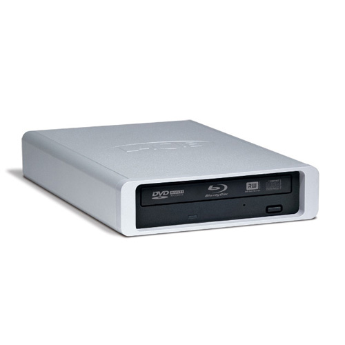 LaCie d2 Blu-ray 12x product photo front L