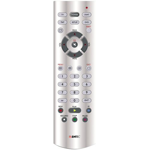 Emtec Universal Remote Control 1in1 H110 product photo front L