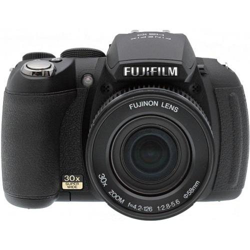 Fujifilm FinePix HS10 product photo back L