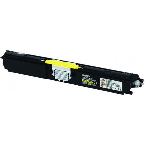 Epson Toner Yellow S050554 AcuBrite Capacité élevée product photo front L