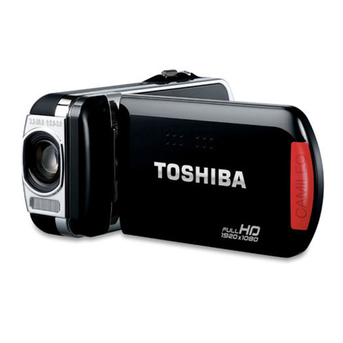 Toshiba Camileo SX900 product photo side L