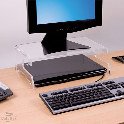 Dataflex LCD Monitor Stand 660 product photo back L