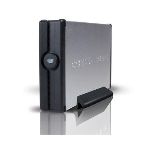 "Conceptronic 3.5"" Harddisk Box USB 3.0 product photo front L"