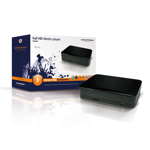 Conceptronic Full HD Media Player product photo side L