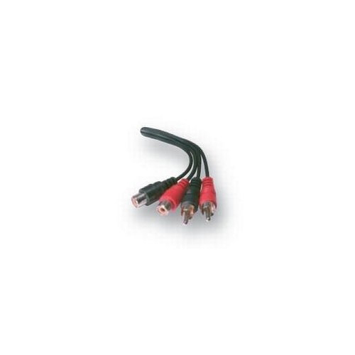Belkin RCA extension cable 2x male/2x female 3M product.image.text.alttext front L