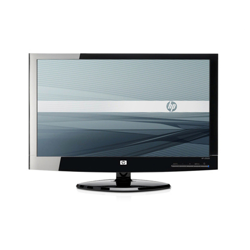 HP x20LED 20-inch WLED Backlit LCD Monitor  product photo front L