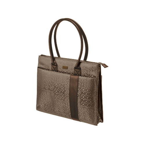 """Trust Rome 15-16"""" Notebook Carry Bag - Brown product photo front L"""