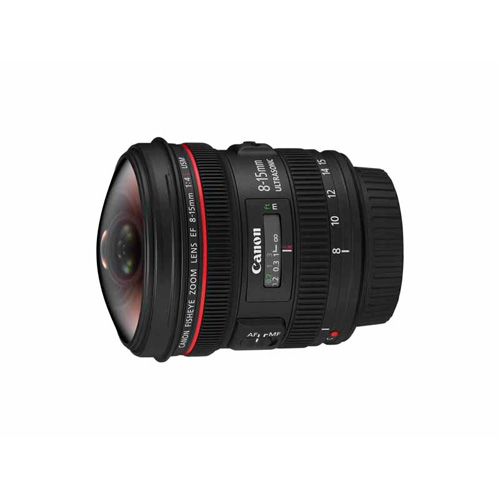 Canon EF 8-15mm f/4L Fish Eye USM product photo front L