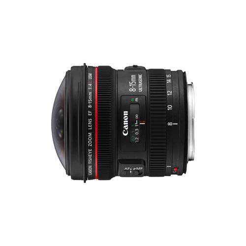 Canon EF 8-15mm f/4L Fish Eye USM product photo back L