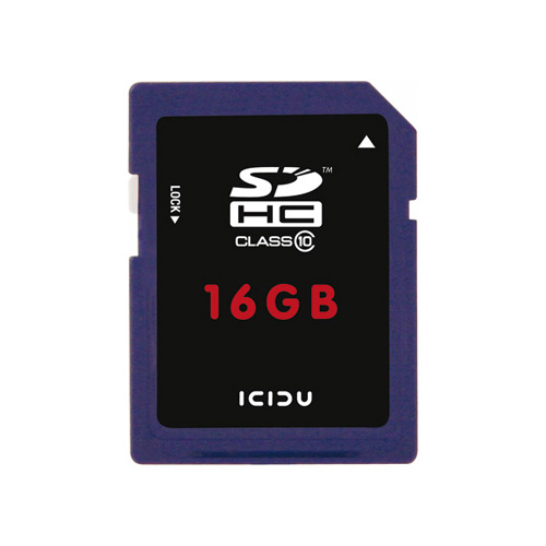 ICIDU Class 10 Hi-Speed Secure Digital Card 16GB product photo front L