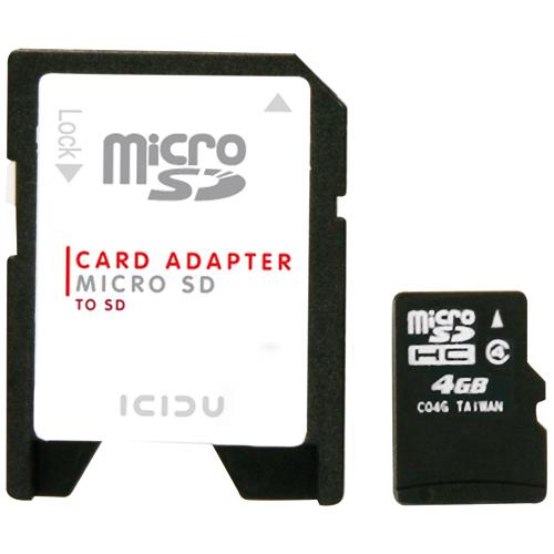 ICIDU Micro Secure Digital 4GB product.image.text.alttext side L
