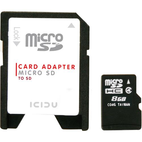 ICIDU Micro SDHC Card 8GB product photo back L