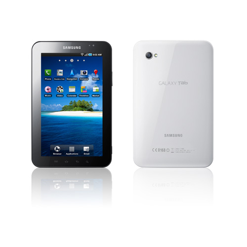 Samsung Galaxy Tab product photo front L