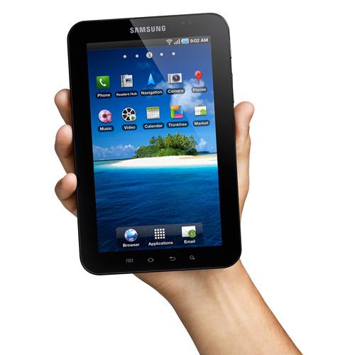 Samsung Galaxy Tab product photo side L