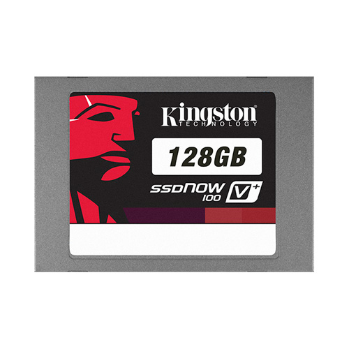 Kingston 128GB SSDNow V+100 product photo front L