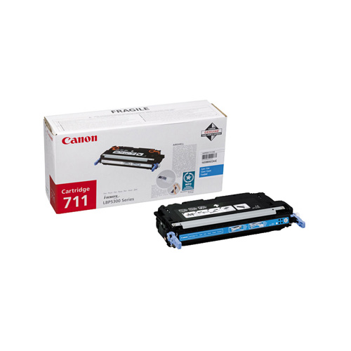 Canon Cartridge 711 Cyan product photo front L