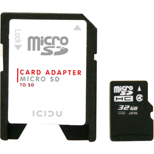 ICIDU Micro SDHC Card 32GB product.image.text.alttext back L