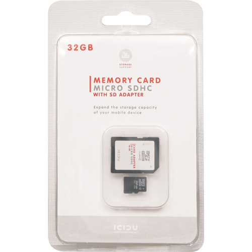 ICIDU Micro SDHC Card 32GB product.image.text.alttext side L