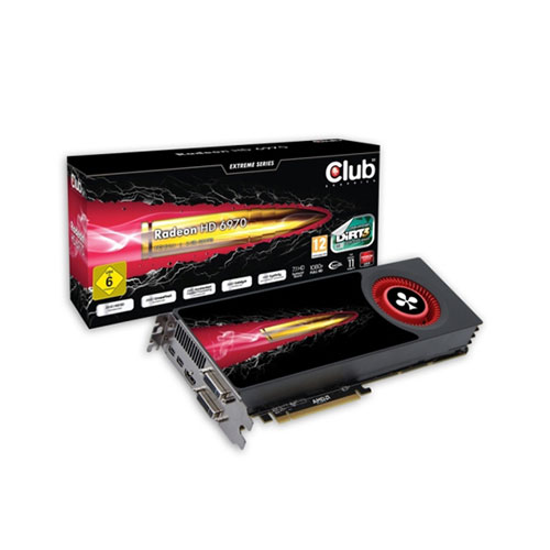 CLUB3D Radeon HD 6970 product photo front L
