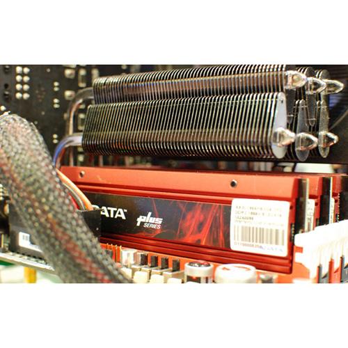 A-DATA XPG Plus V2.0, DDR3, 1600 MHz, CL8, 4GB (2GB x 2) product photo side L