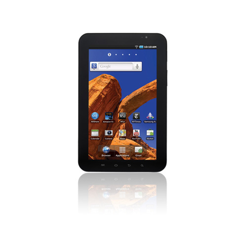Samsung P1010 Galaxy Tab product photo front L