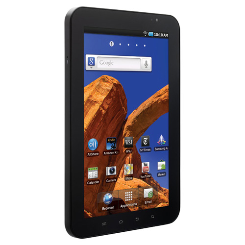Samsung P1010 Galaxy Tab product photo back L
