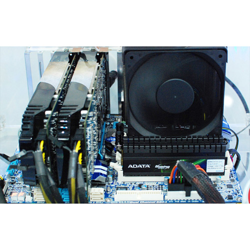 A-DATA XPG Gaming Series V2.0, DDR3, 2000 MHz, CL9, 4GB (2GB x 2) product photo back L