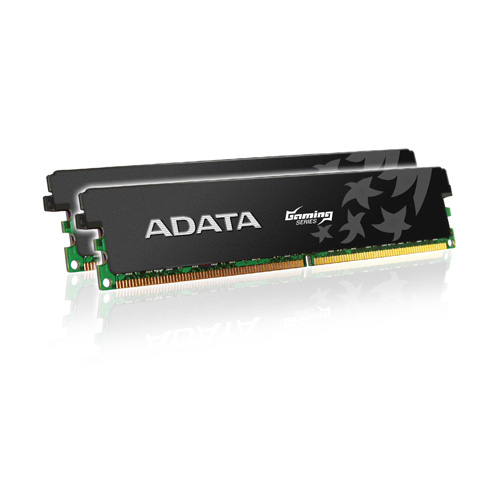 A-DATA XPG Gaming Series, DDR3, 1600 MHz, CL9, Low Voltage, 4GB (2GB x 2) product photo front L