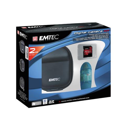 Emtec Digital Camera kit 2GB product photo front L