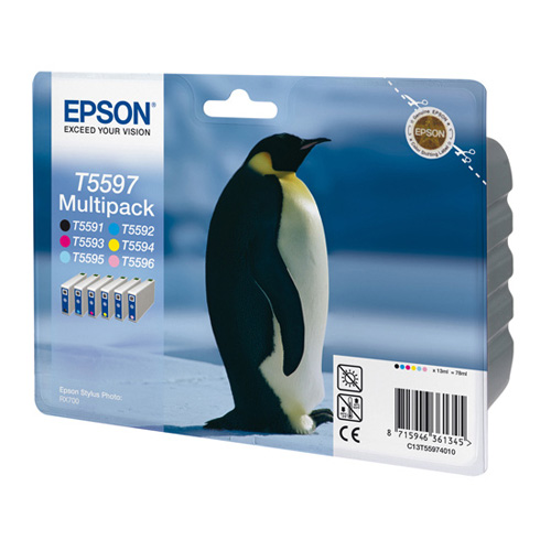 Epson Multipack 6-colours T5597 product photo front L