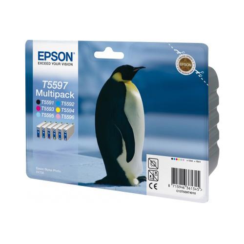 Epson Multipack 6-colours T5597 product photo back L