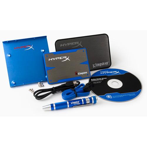 Kingston 240GB HyperX SSD Bundle Kit product photo front L